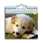 Vægkalender med hunde